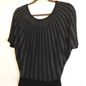 EXPRESS Crop Sweater Black M
